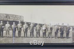 1908 Chicago Cubs World Series Champions Original Team Framed Panoramic Photo