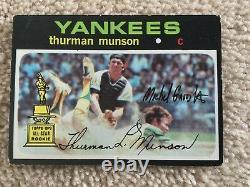 1971 Topps Munson Framed Uncut Sheet (+BONUS!)