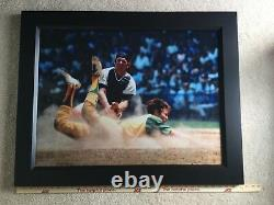 1971 Topps Thurman Munson Framed Photo (33x26 +BONUS!)