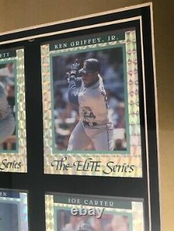 1992 Donruss Elite Framed 12 Card Complete Set Ripken Auto Griffey Jr Henderson