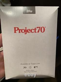 1/1 Topps Project 70 Card #2 Fernando Tatis Jr. Ermsy GOLD FRAME! Mvp