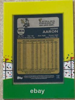 2013 Topps Archives Hank Aaron Autograph Auto #/25