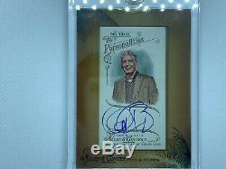 2014 Topps Allen & Ginter's Framed Mini Autographs AGA-ABO Anthony Bourdain Auto