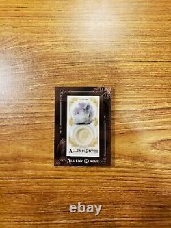 2017 Topps Allen and Ginter Framed Mini Gems and Ancient Fossil Relics #GAFC