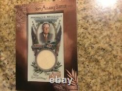 2019 Topps Allen and Ginter Mini Framed Presidential Pieces Relic, FDR, 05/25