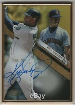2019 Topps Gold Label KEN GRIFFEY JR Framed Gold Auto #ed 1/1 Seattle Mariners