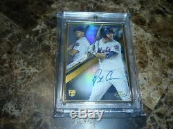 2019 Topps Gold Label Pete Alonso Gold Framed On Card Auto RC SP Mets