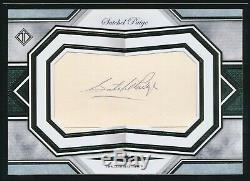 2019 Topps Transcendent Satchel Paige Oversize Cut Auto Autograph Framed 1/1