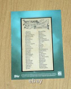 2020 Topps Allen/Ginter original framed 1888 City Flags Philadelphia true 1/1