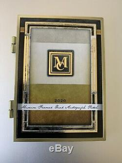 2020 Topps Museum Aaron Judge Torres Dual Auto Patch Gold Frame Booklet 1/1