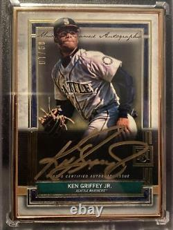 2020 Topps Museum Ken Griffey Jr! Gold Framed Auto #9/10! Mariners
