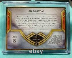 2020 Topps Transcendent Framed Cal Ripken Jr. HOF Signed AUTO 1/1! Orioles