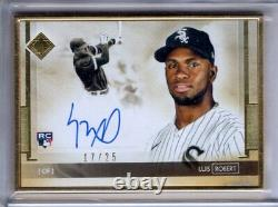 2020 Transcendent Collection Auto LUIS ROBERT Gold Framed RC AUTOGRAPH /25 Topps