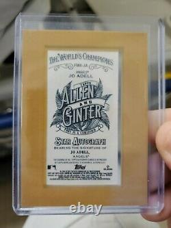 2021 Topps Allen & Ginter JO ADELL Rookie Mini Framed Autograph Angels Auto RC