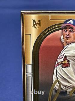 2021 Topps Museum Collections Baseball Greg Maddux 10/10 Gold Frame Auto