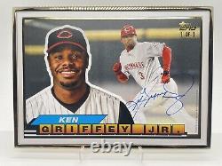 2021 Topps Transcendent Ken Griffey Jr One of One (1/1) Big Baseball Framed Auto