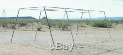 30' Baseball / Softball Slant Leg Batting Cage Frame1 5/8 Fitting Free Ship