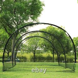 Baseball Batting Cage Net And Frame Softball Hitting Cage Netting 20 x 13 Feet