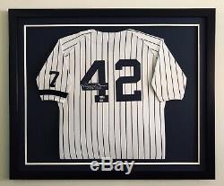 Baseball Jersey Framing MLB Frame Your Autographed Signed Jerseys Custom Framed