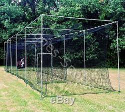 Batting Cage Frame Kit 12' x 14' x 70' EZ UP & DOWN Baseball Softball Frame Kit
