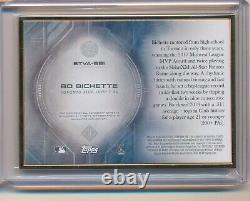 Bo Bichette RC Auto ROOKIE 18/25 2020 Topps Transcendent Gold Frame Blue Jays