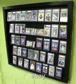 Card Display Case for 50 PSA Cards Graded, Beckett Deep