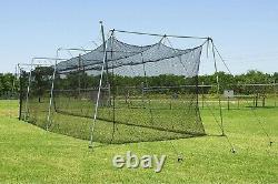 Cimarron 40x12x10 Batting Cage and Frame Corners