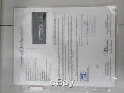 Derek Jeter Signed Autograph Framed Louisville Slugger Bat Jsa Coa Fr001