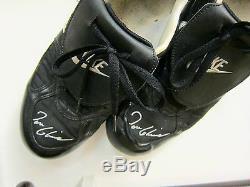 Framed Tom Glavine Nike Baseball Shoes-mizuno Glove-ball-bat Louisville Slugger