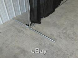 Golf Baffle Net Baseball Fielders Screen or Backstop 10' x10' Optional Frame Kit