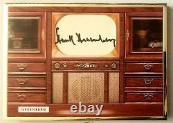 Hank Greenberg 2020 Bowman Transcendent Gold Framed Cut Signature #1/1 Tigers