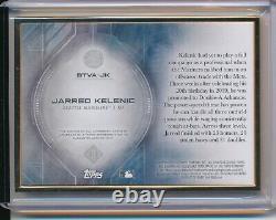 Jarred Kelenic Auto Prospect 12/25 2020 Topps Transcendent Gold Frame Mariners