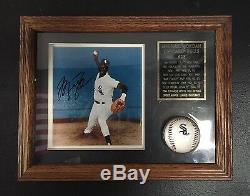 Michael Jordan Autograph Framed White Sox Photo/Baseball -Guaranteed Authentic