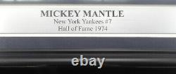 Mickey Mantle Autographed Signed Framed 16x20 Gallo Photo Yankees JSA Z26857