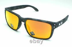 Oakley Holbrook OO9102-E955 Black Camo Frame / Prizm Ruby Lenses