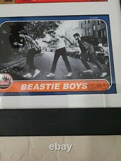Ricky Powell Framed Beastie Boys Baseball Card Print signed / numbered