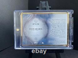 Tarik Skubal 1/10 Auto 2020 Bowman Transcendent Gold Frame Blue Variation RC SSP