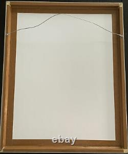 Topps Project 2020 Fine Art Print Mike Trout Ermsy Silver Frame A. P. #d 17/20