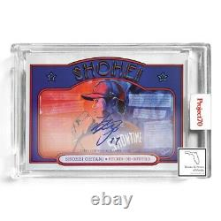 Topps Project 70 Shohei Ohtani By Palmer On Card Auto # /70 Presale Angels #362
