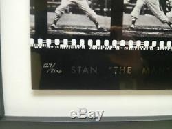 Upper Deck Framed Stan Musial Autograph Filmstrip UDA