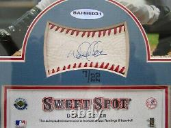 Upper Deck Sweet Spot Signatures Derek Jeter AUTO 7 / 22 Framed Photo