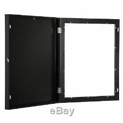 Wood Jersey Display Case Frame Shadow Box Football Baseball