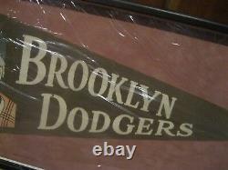 1950 Brooklyn Dodgers New York Dem Bums Vintage Pennant Mlb Cadre