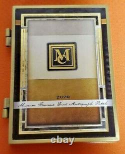 1 / 1 Mike Trout & Kris Bryant Auto! 2020 Topps Museum Double Framed Patch Autograph