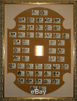 2000 Upper Deck Legends Maillots Legendary Complete Set Sp Framed & Emmêlées