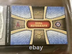 2012 Topps Cinq Étoiles Bryce Harper Rc Mike Trout Auto Dual Autograph /10 Bgs 9 Mt