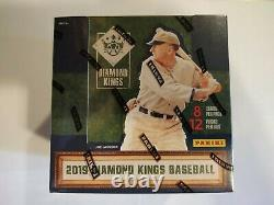 2019 Diamond Kings Baseball Card Hobby Box Seeled Fernando Tatis Rookie Autos