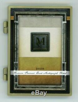 2020 Collection Musée Paul Goldschmidt Jack Flaherty 1/1 Logo Framed Auto Patch