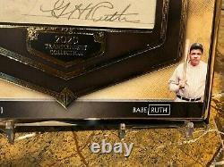 2020 Topps Transcendent 1/1 Babe Ruth Cut Autographe Goat Yankees Sick! Hof