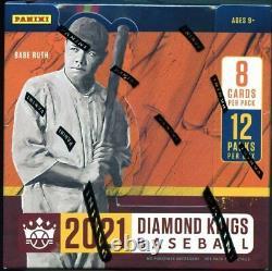 2021 Panini Diamond Kings Baseball Hobby Box